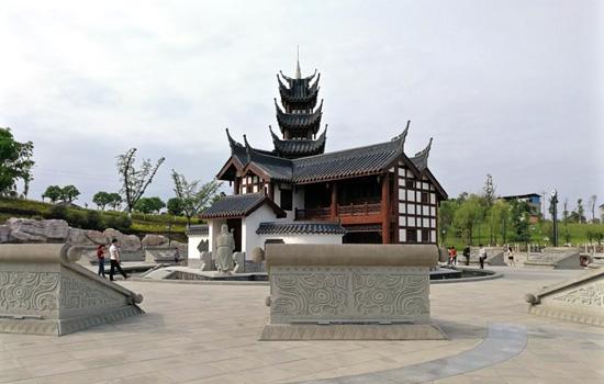 景区在依托区位优势和自然景观资源的同时,以儒家文化为主题,融入隆昌