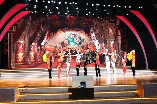 余温未却的内江市第二届百姓网络春晚只是狗年春节群众文化活动的一个
